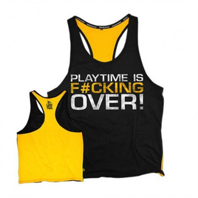 "Dedicated Tank Top ""Playtime is over"""