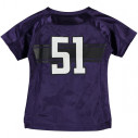Northwestern Wildcats Under Armour Toddler Replica Football Performance Jersey - Purple