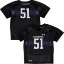 51 Northwestern Wildcats Under Armour Infant Replica Football Jersey - Black