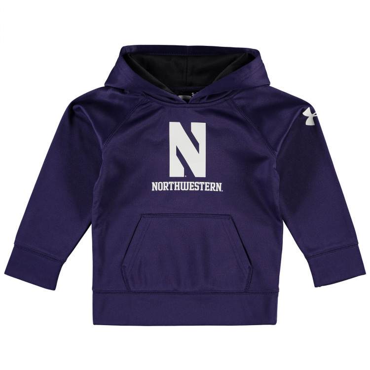 Preschool Under Armour Purple Northwestern Wildcats Campus Fleece Hoodie