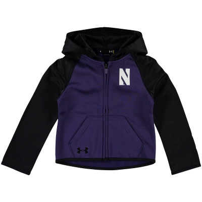 Preschool Under Armour Purple Northwestern Wildcats Campus Fleece Hoodie