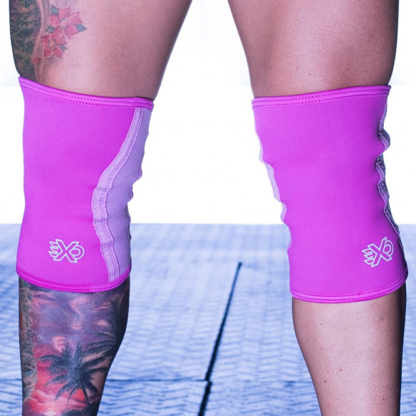 Stabilizatory Kolana FISHER PINK - 5MM KNEE SLEEVES