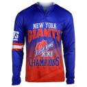 NFL New York Giants Super Bowl XXI Champions Hoody Tee