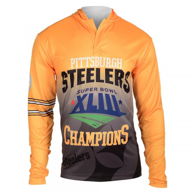 NFL Pittsburgh Steelers Super Bowl XLIII Champions Hoody Tee
