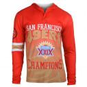 NFL San Francisco 49ers Super Bowl XXIX Champions Hoody Tee
