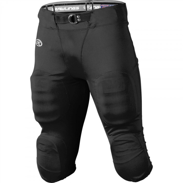 SPODNIE RAWLINGS FUTBOLOWE YOUTH-BLACK