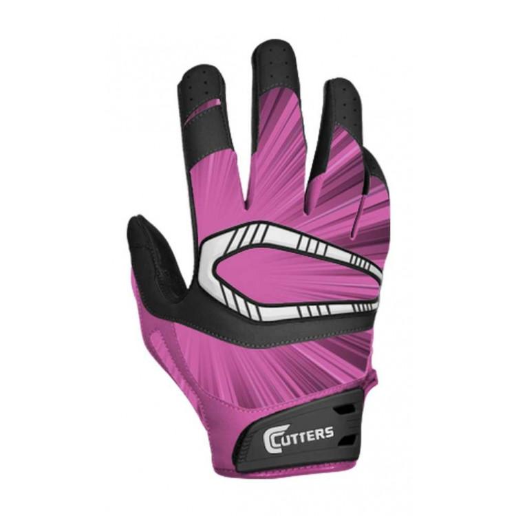 Rękawiczki Futbolowe Cutters Rev Pro S450 Pink