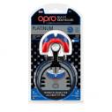 Szczęka OPRO  Shield PLATINUM Blue - Red