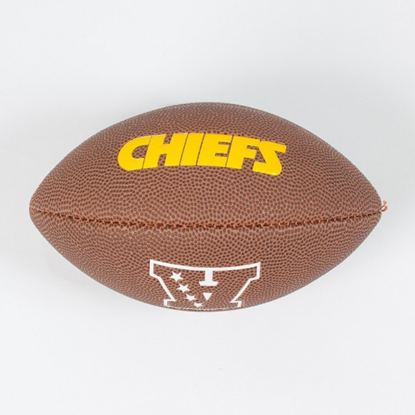 PIŁKA FUTBOLOWA Wilson NFL MINI TEAM LOGO Kansas City Chiefs