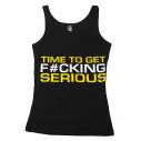 Dedicated Tank Top Damski 'Time to get Serious'