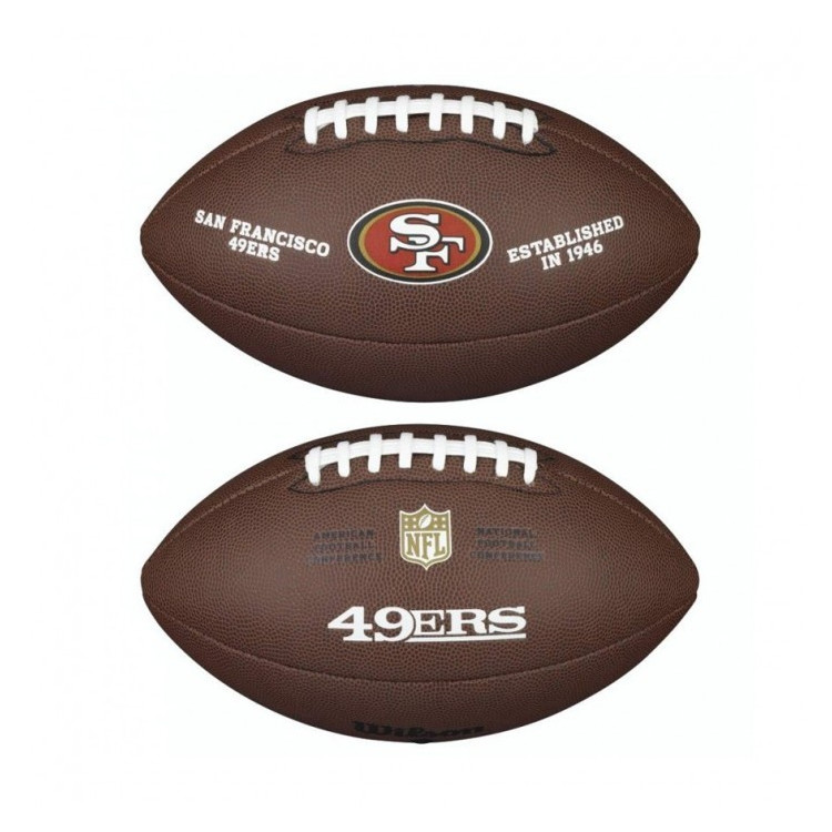 PIŁKA FUTBOLOWA Wilson NFL LICENSED BALL San Francisco 49ers