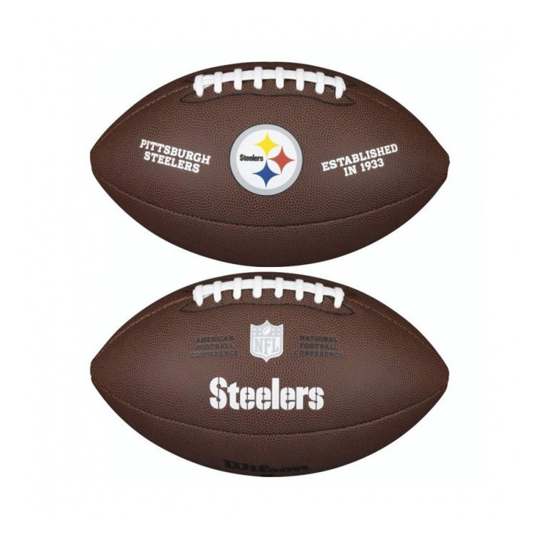 PIŁKA FUTBOLOWA Wilson NFL LICENSED BALL Pittsburgh Steelers