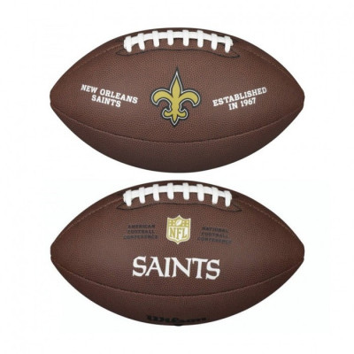 PIŁKA FUTBOLOWA Wilson NFL LICENSED BALL New Orleans Saints
