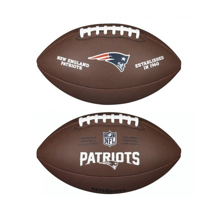 PIŁKA FUTBOLOWA Wilson NFL LICENSED BALL New England Patriots