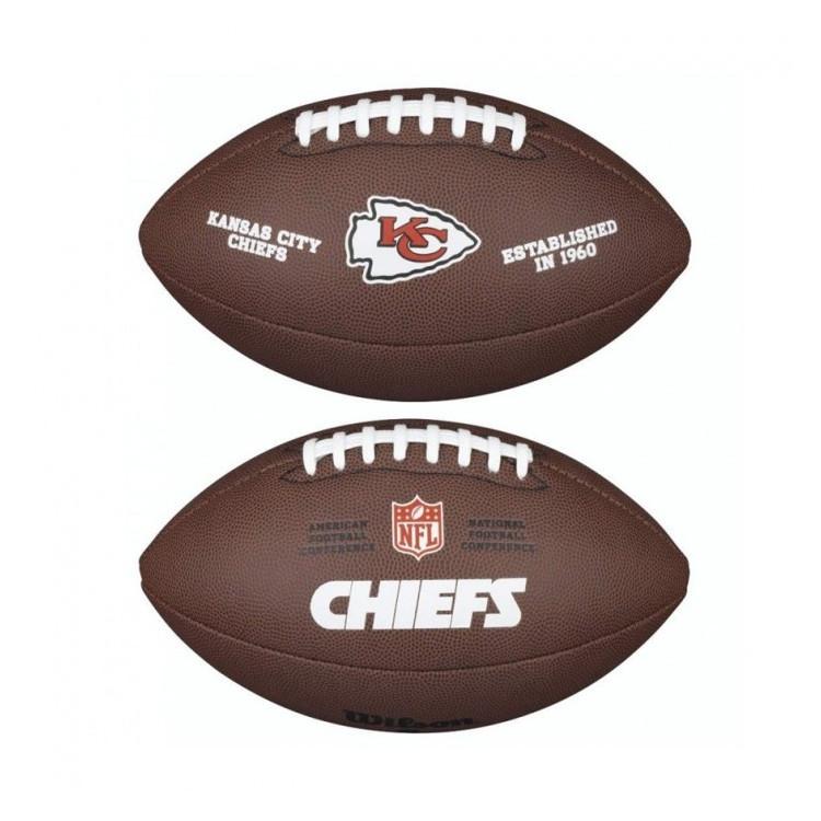 PIŁKA FUTBOLOWA Wilson NFL LICENSED BALL Kansas City Chiefs