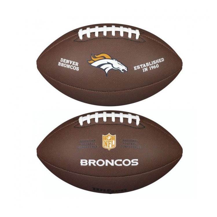 PIŁKA FUTBOLOWA Wilson NFL LICENSED BALL Denver Broncos