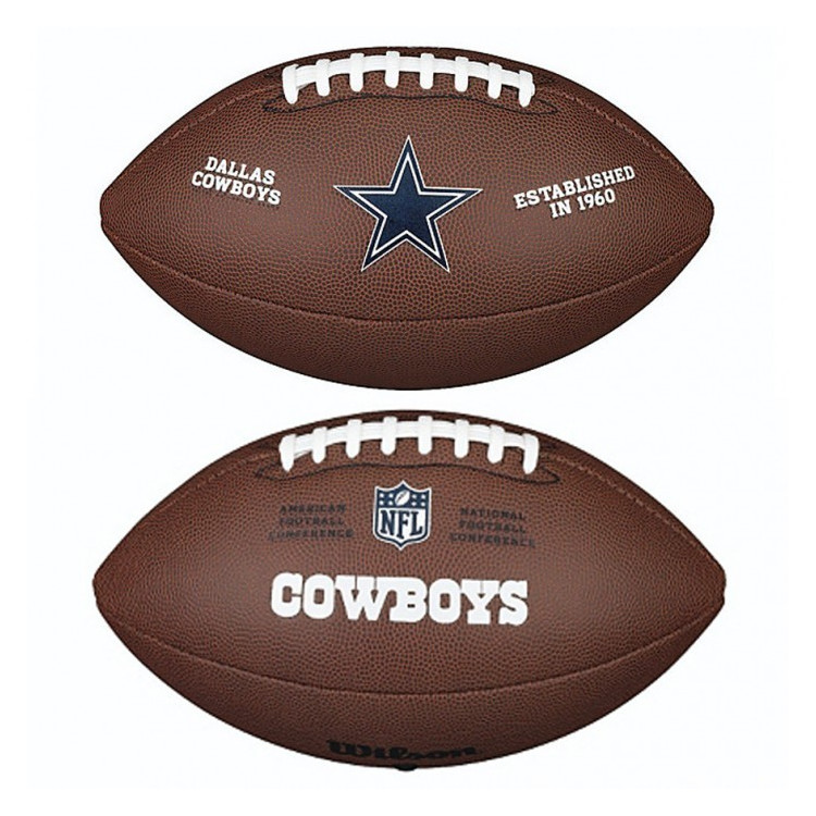 PIŁKA FUTBOLOWA Wilson NFL LICENSED BALL Dallas Cowboys