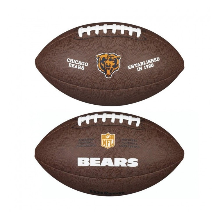 PIŁKA FUTBOLOWA Wilson NFL LICENSED BALL Chicago Bears