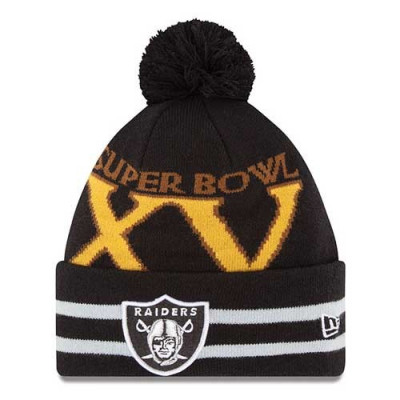 Czapka zimowa Oakland Raiders Super Bowl XV