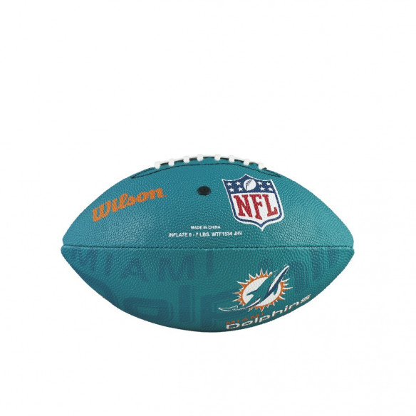 Piłka NFL JR Team Logo FB MIAMI DOLPHINS