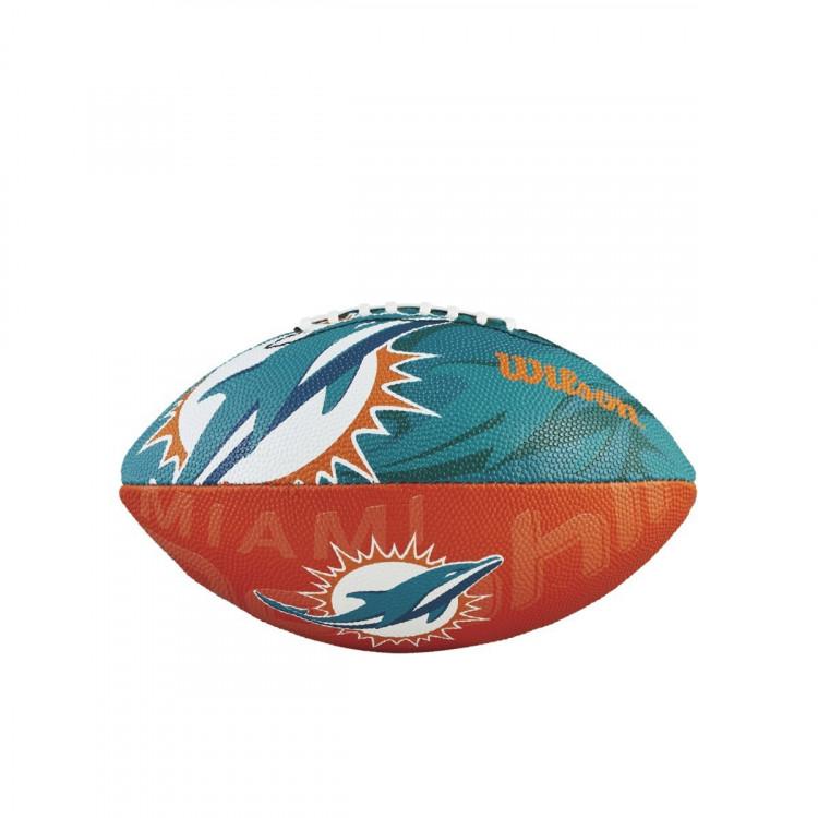 Piłka NFL JR Team Logo FB MI
