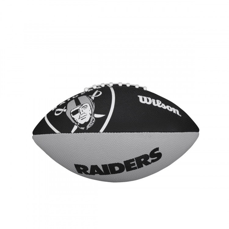 Piłka NFL JR TEAM LOGO FB OAKLAND RAIDERS