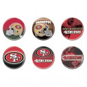 Wincraft Button Six Pack Club 49ERS