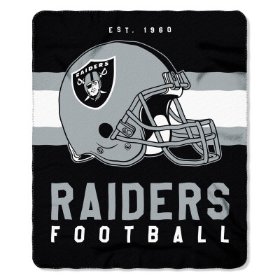 Ręcznik TNC NFL 50x60 Fleece Throw Oakland Raiders