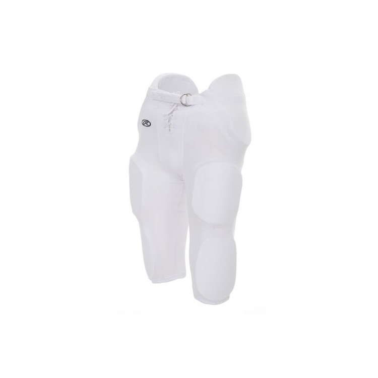 Spodnie Futbolowe Rawlings Football Pants-Adult-WHITE