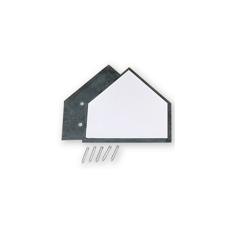 Benson HP2 (GH-0101) Homeplate w/Black Edge