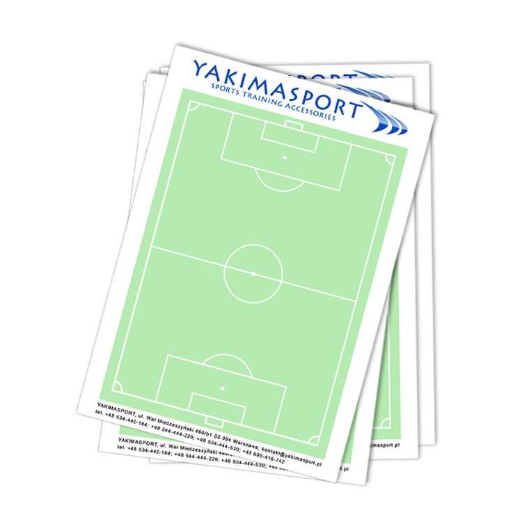 Blok trenera A4 - boisko, zeszyt, notatnik