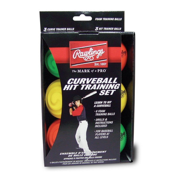 Rawlings Curve Ball Hit Training Set (6pk)