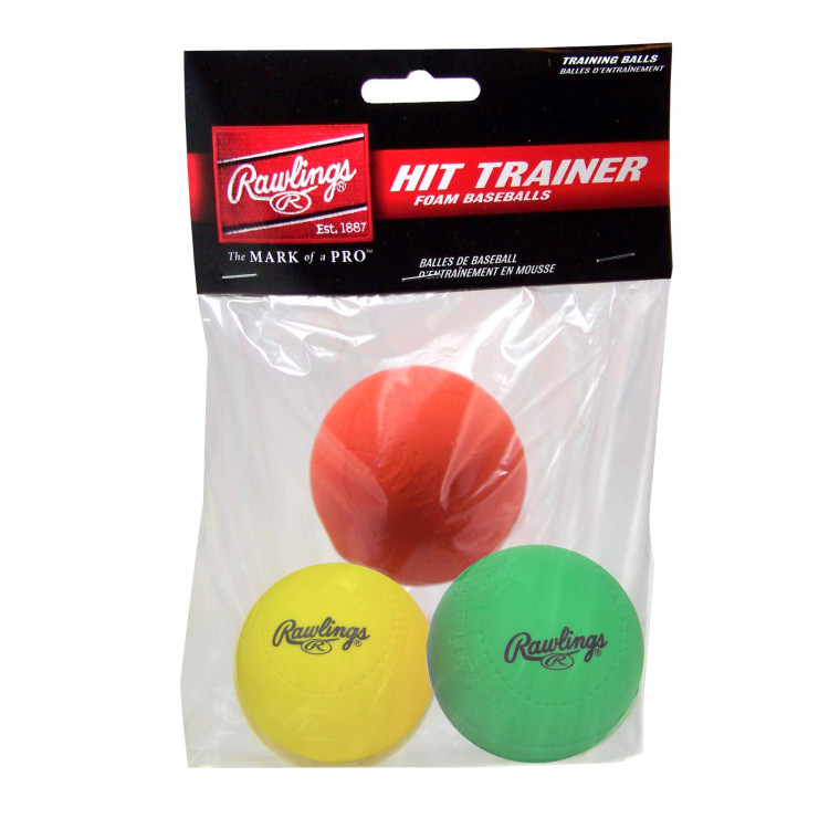 Rawlings Hit Trainer Balls (3pk)