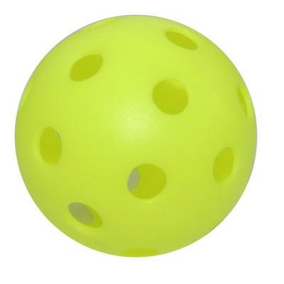 Benson Wiffle Plastic Softball Yellow