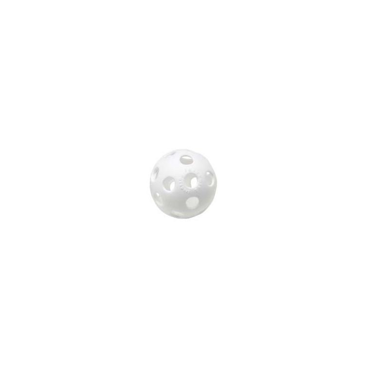 Benson Wiffle Plastic Baseball White
