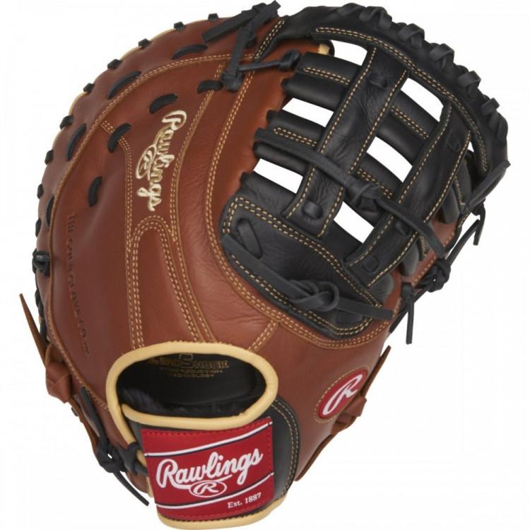 "Rawlings SFM18 Sandlot Series 12.5"" Baseball First Base Mitt"