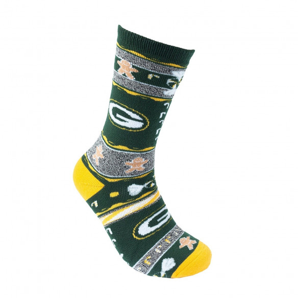 FOR BARE FEET NFL UGLY SKARPETKI Green Bay Packers