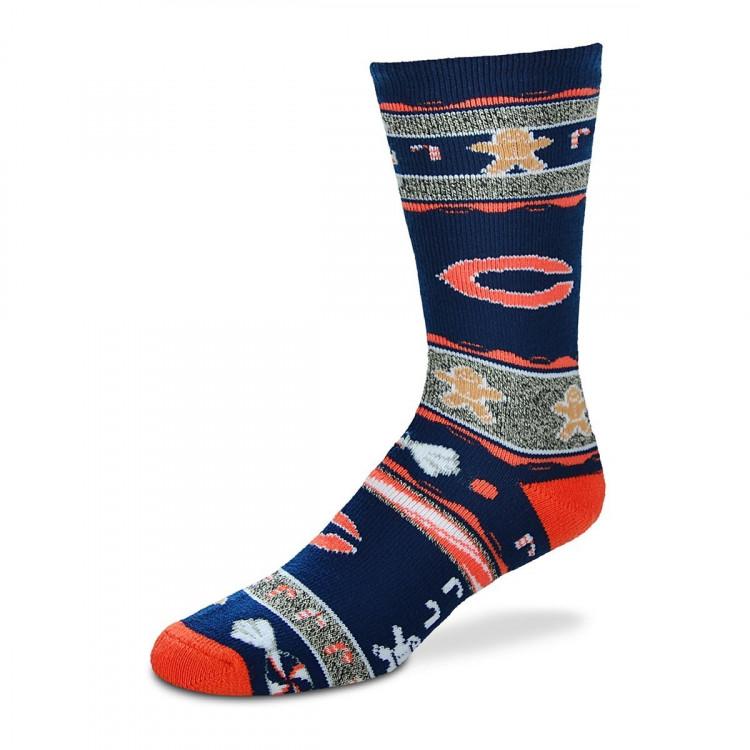 FOR BARE FEET NFL UGLY SKARPETKI Chicago Bears