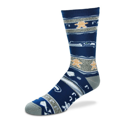 FOR BARE FEET NFL UGLY SKARPETKI Seattle Seahawks