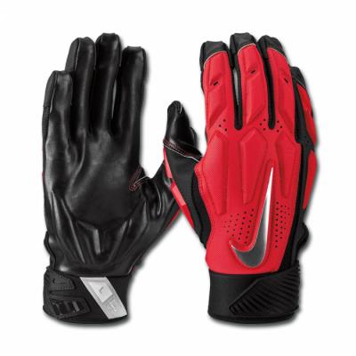 Nike D-Tack 6.0 Rękawiczki dla liniowych Red Futbol Amerykański Sklep