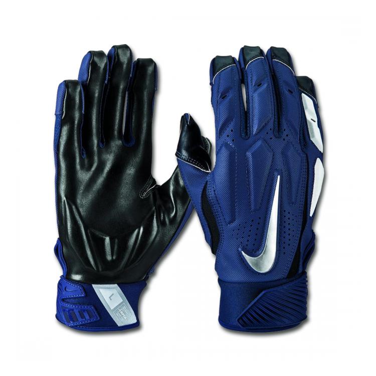 Nike D-Tack 6.0 Rękawiczki dla liniowych Navy Futbol Amerykański sklep