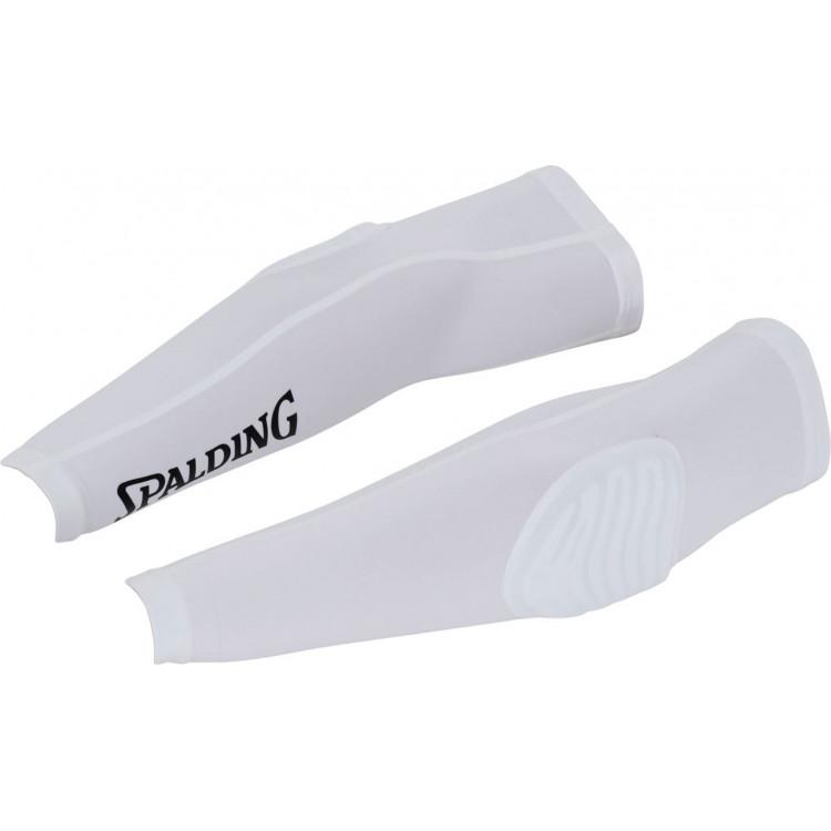 Spalding Arm Sleeve Ochraniacz na łokieć White