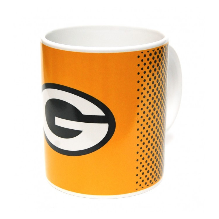 Green Bay Packers Fade Mug Kubek
