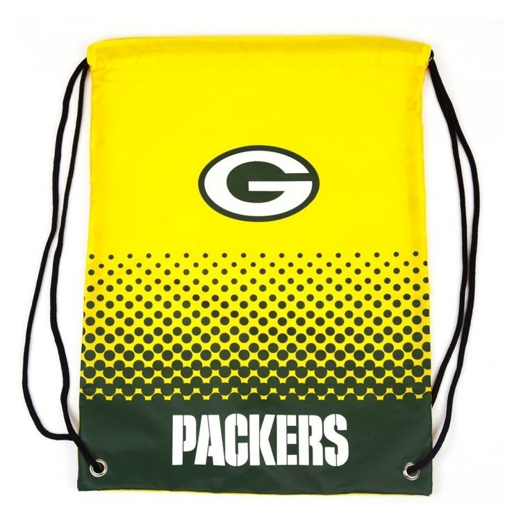 Green Bay Packers Fade Gym Bag