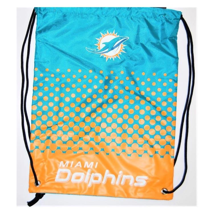 Miami Dolphins Fade Gym Bag