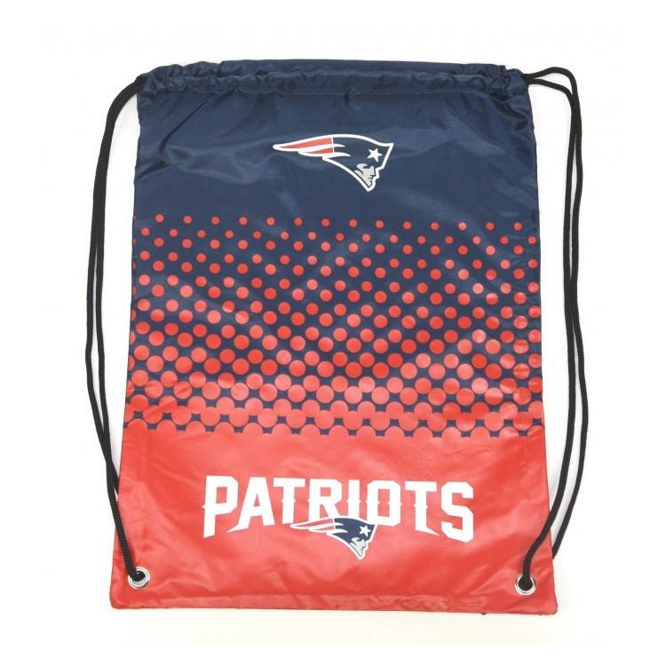 New England Patriots Fade Gym Bag