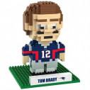 New England Patriots Tom Brady Player 3D BRXLZ Puzzle Set
