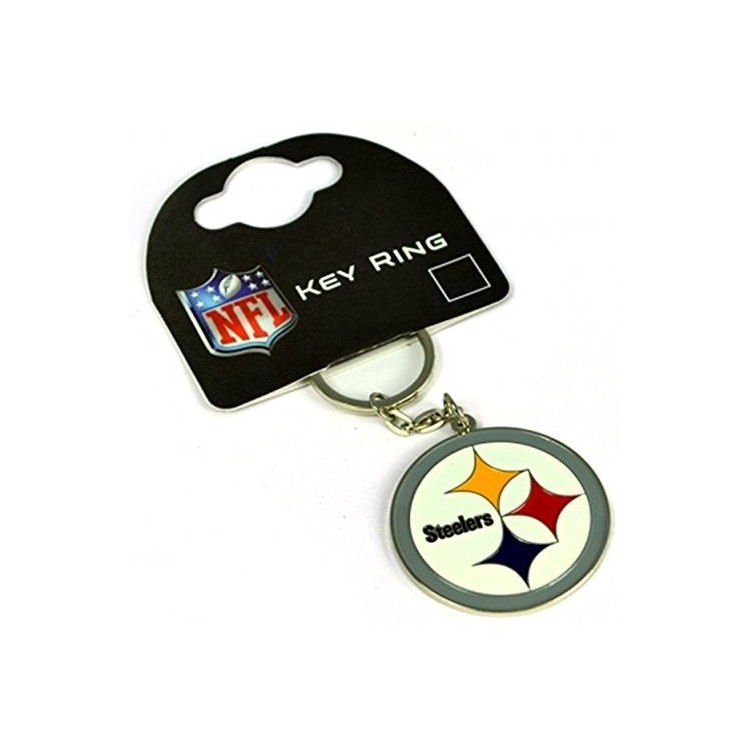 Pittsburgh Steelers Crest Key Ring Brelok do kluczy