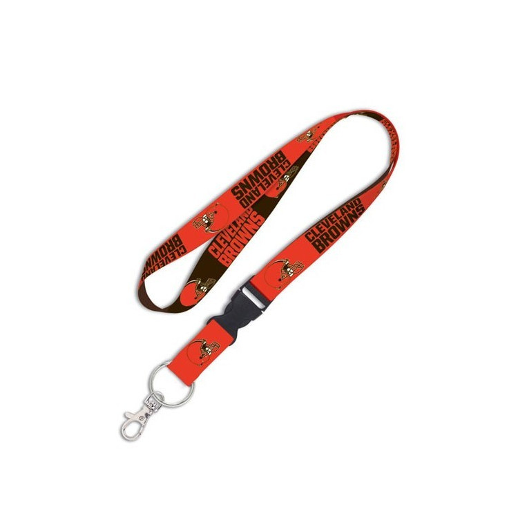 "Cleveland Browns 1"" Lanyard w/ Detachable Buckle"