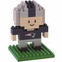 New England Patriots NFL 3D BRXLZ Puzzle Player Set